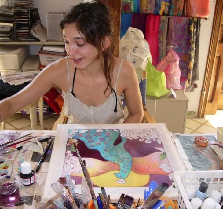 Aprende a pintar sobre seda en estos dias libres uolala - Aprender a pintar ...