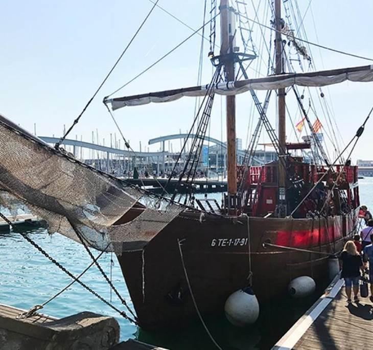 Aventura pirata al port de Barcelona - pic1