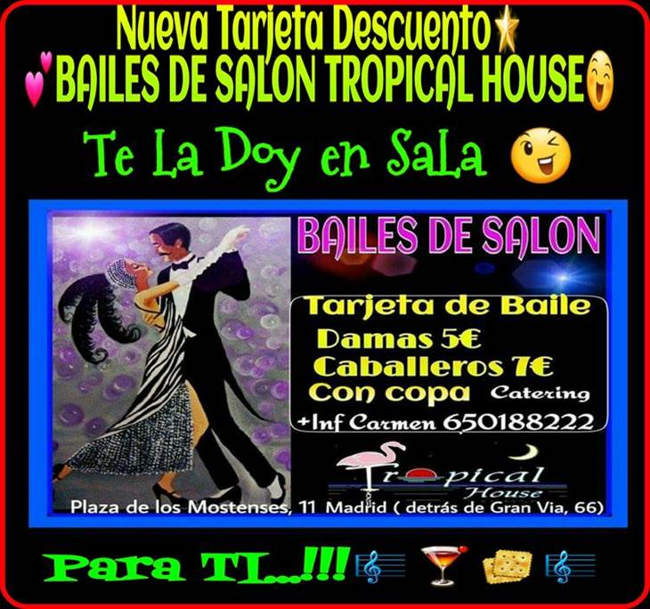 bailes de salon en tropical house - pic0