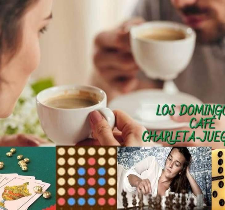 CAFÉ- CHARLETA- JUEGOS ENTRE AMIGOS (+45AÑOS - pic0