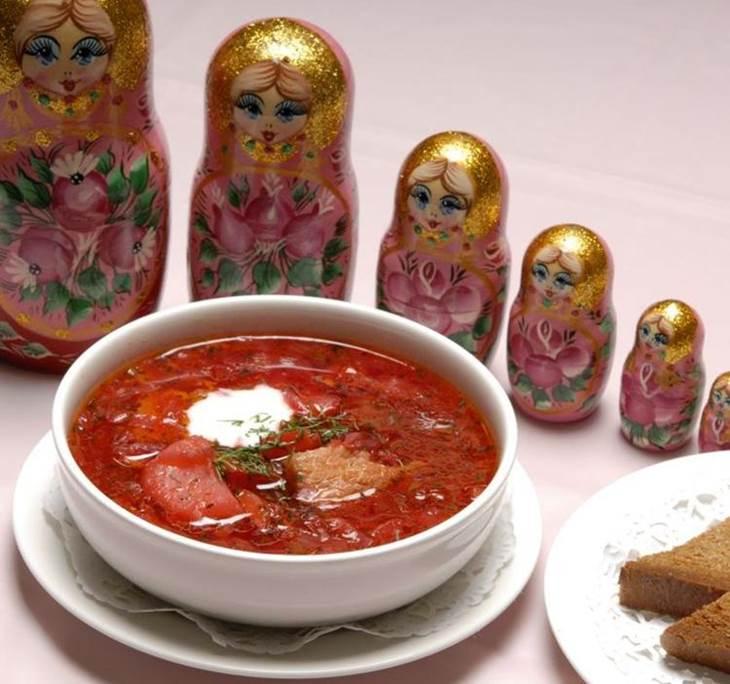 Cena en restaurante ruso - pic0