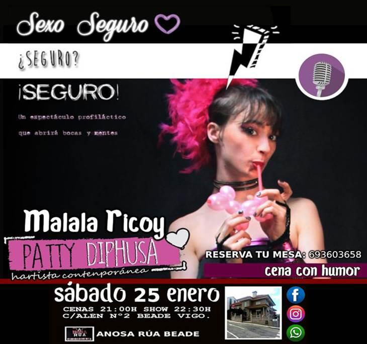Cena Monólogo con Malala Ricoy en Vigo - pic2