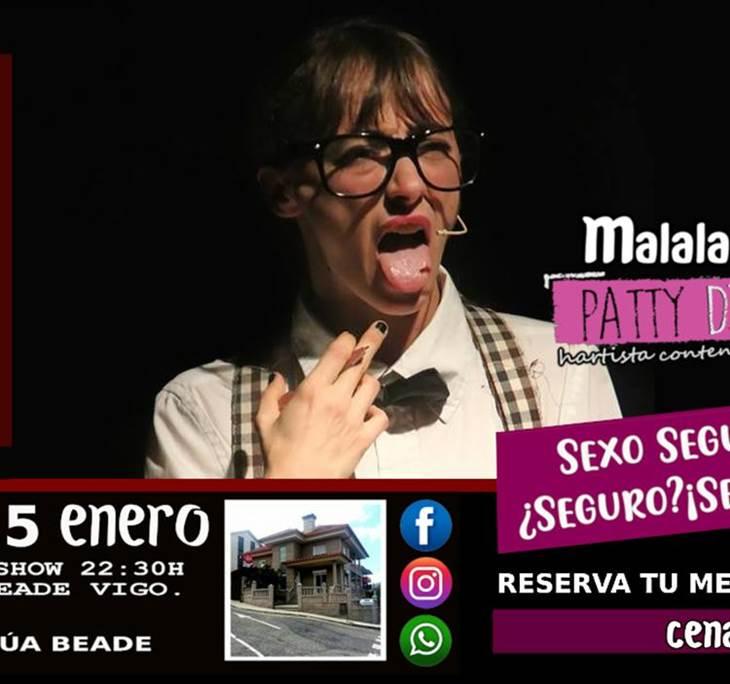 Cena Monólogo con Malala Ricoy en Vigo - pic3