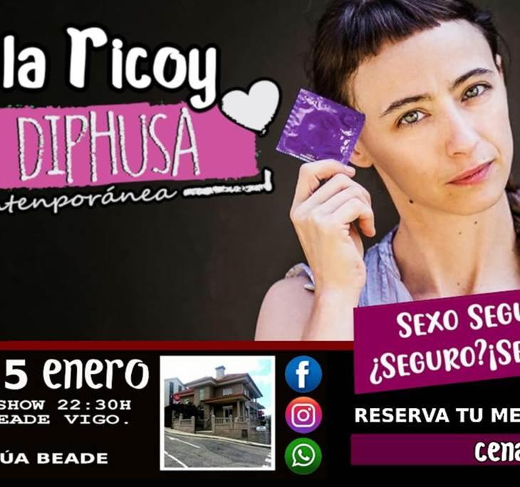 Cena Monólogo con Malala Ricoy en Vigo - pic4