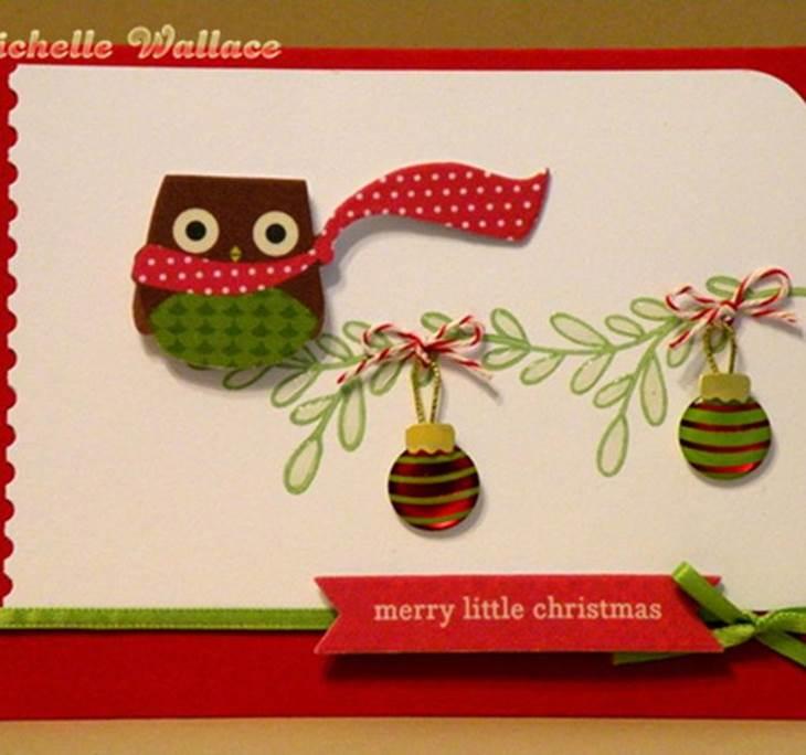 tarjetas navide as hechas a mano uolala