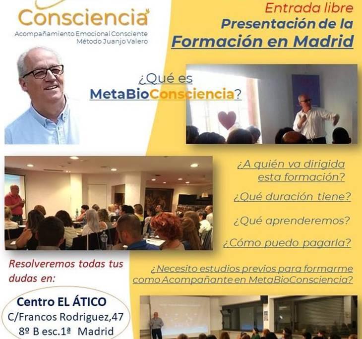 CHARLA INFORMATIVA FORMACIÓN EN METABIOCONSCIENCIA - pic0