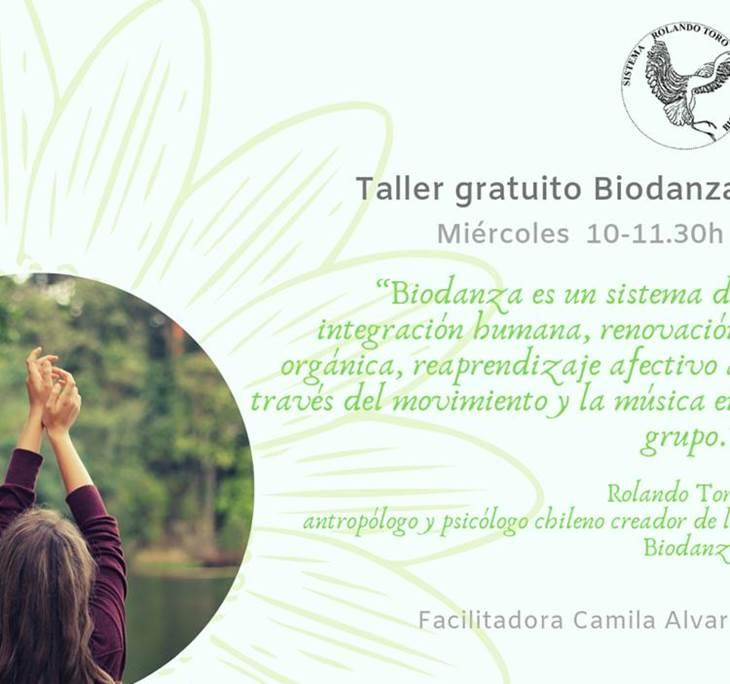 Clase abierta de Biodanza - pic0