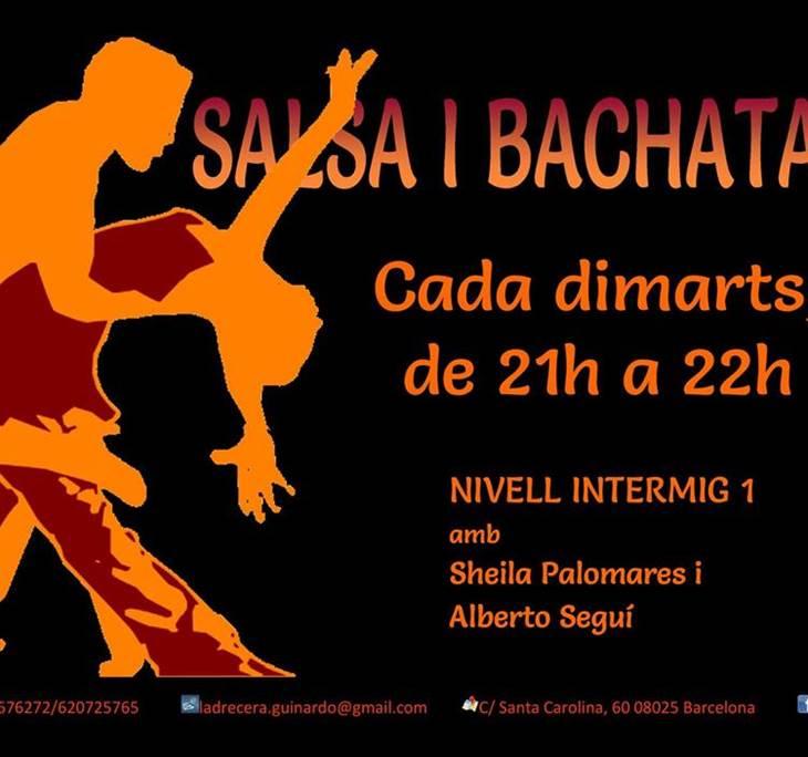 CLASSE DE PROVA DE SALSA I BACHATA - GRUP INTERMIG - pic0