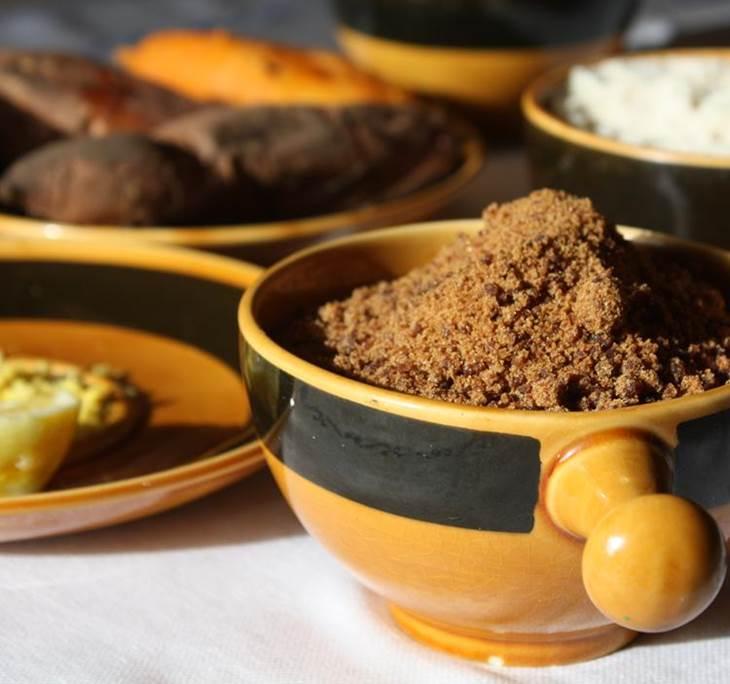 Cocina en familia panellets boniatos y casta as uolala for Cocina en familia