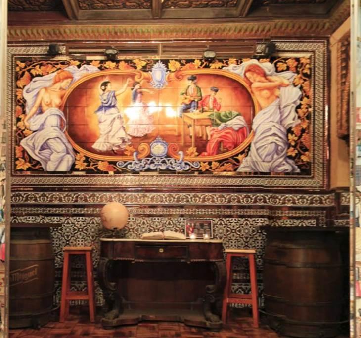 Comida en Villa Rosa con copla de Manuel de Segura - pic0