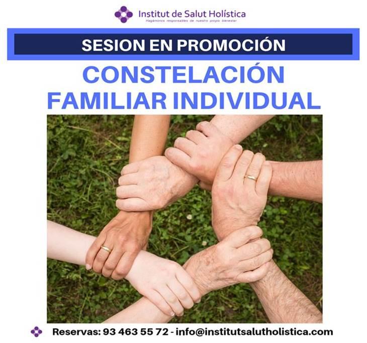 PROMOCIÓN: CONSTELACIÓN FAMILIAR INDIVIDUAL AL 50% - pic0
