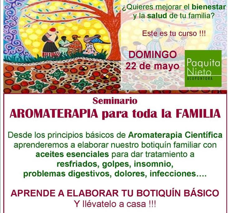 Seminario de AROMATERAPIA  Familiar - pic0