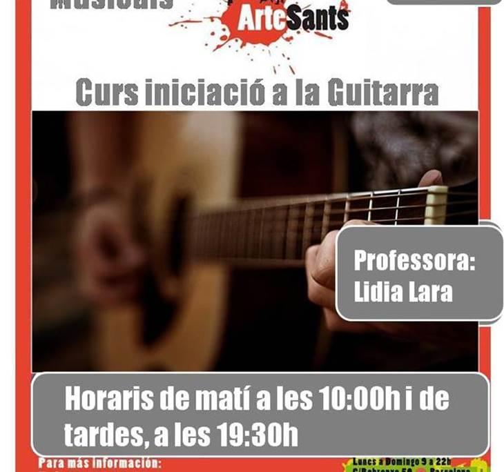 inciacion a la Guitarra para adultos mañanas - pic0