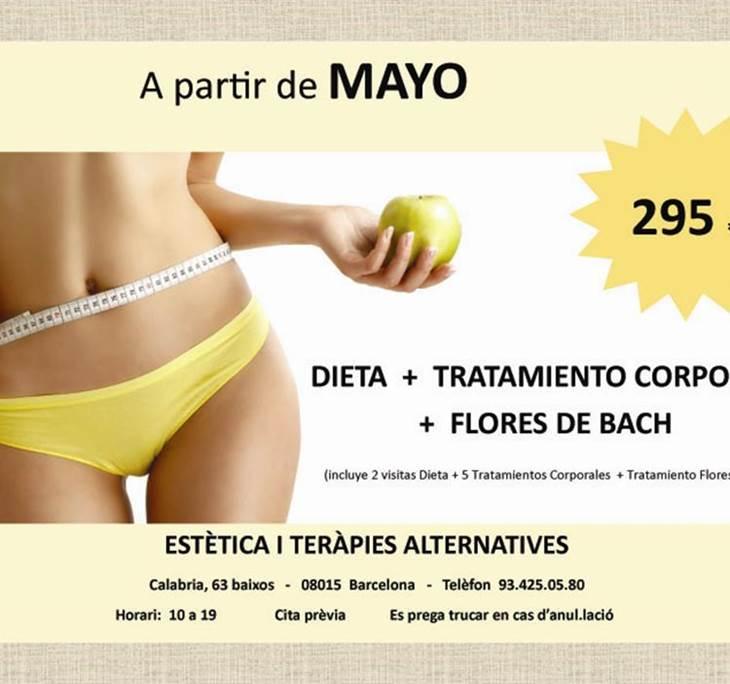 DIETA + TRATAMIENTO CORPORAL + FLORES DE BACH - pic0