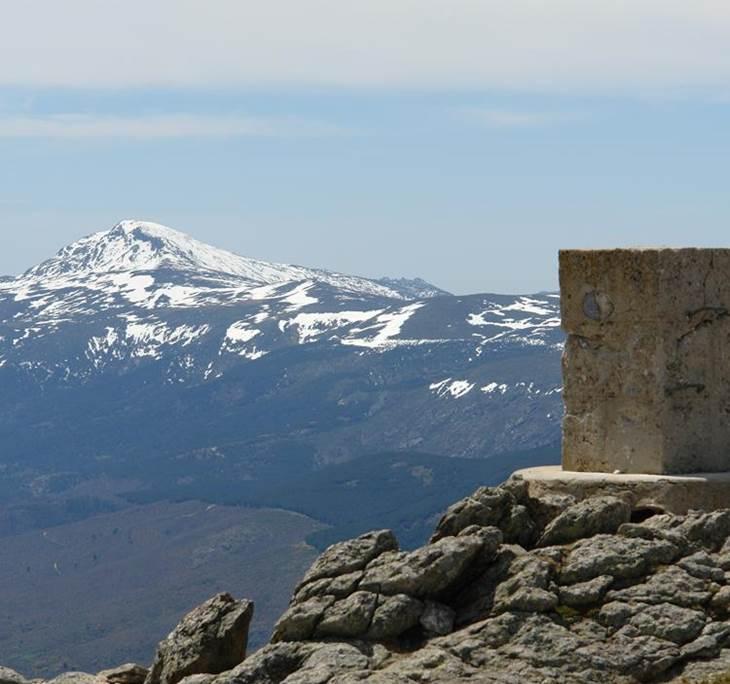 El Pico Nevero desde el Puerto de Navafría - pic0