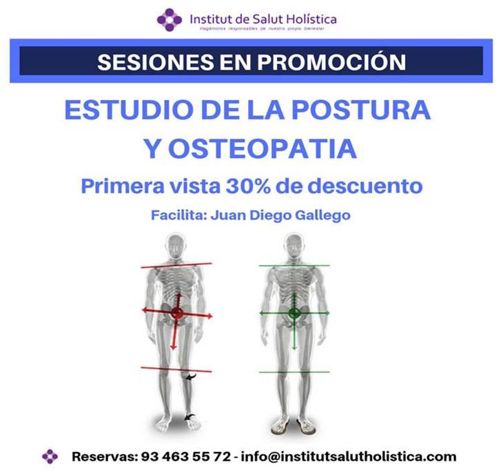 Estudio de la Postura y Osteopatia en promoción - pic0