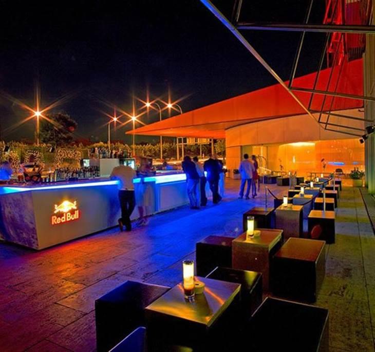 Evento terraza tico del hotel puerta de am rica 5 copa for Hotel avenida de america madrid