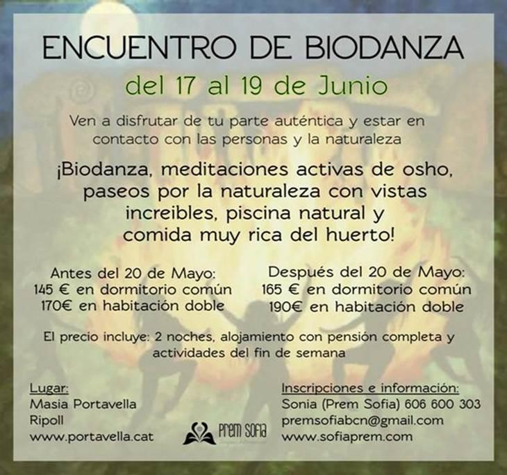 Encuentro de Biodanza en Pirineos - pic1