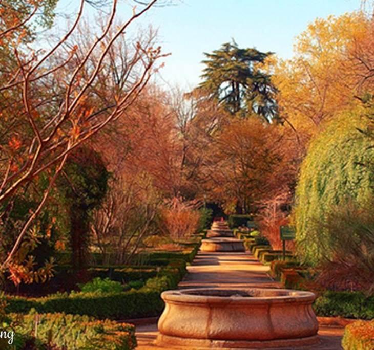 Ruta freetour parque del capricho uolala for Jardin historico el capricho paseo alameda de osuna 25