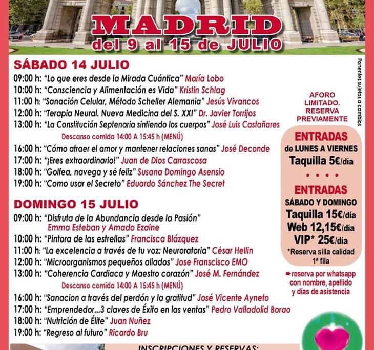 Gira Despertar España<2018 en Madrid 9 al 15 Julio - pic0