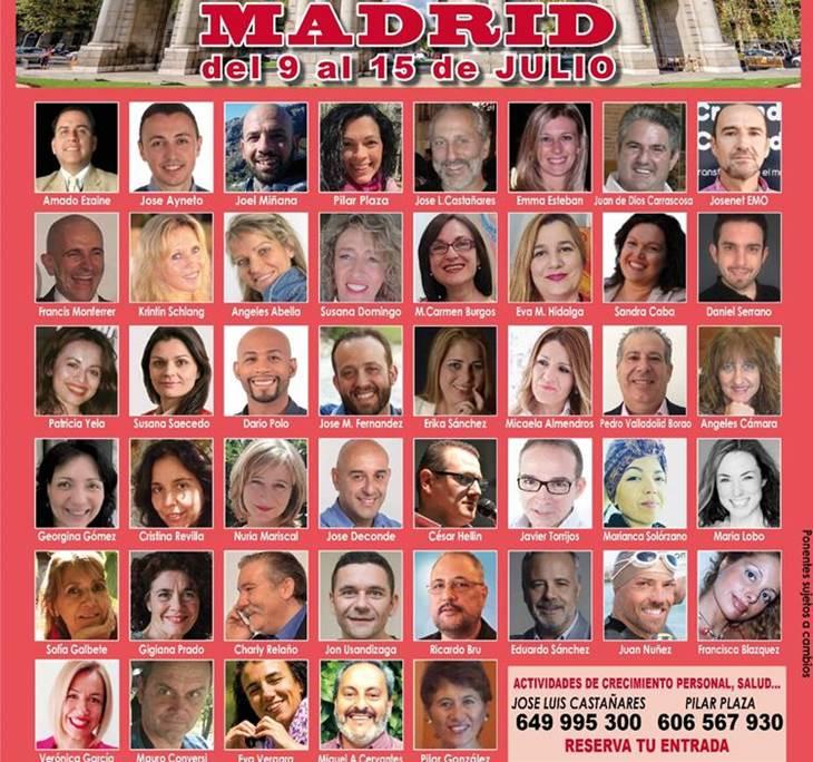 Gira Despertar España<2018 en Madrid 9 al 15 Julio - pic1