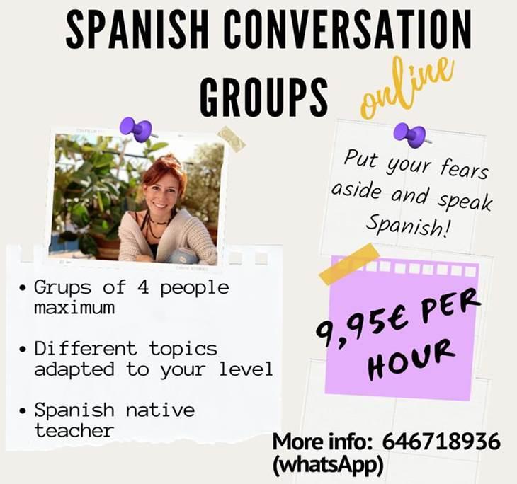 Grupo de conversación en español ONLINE - pic0