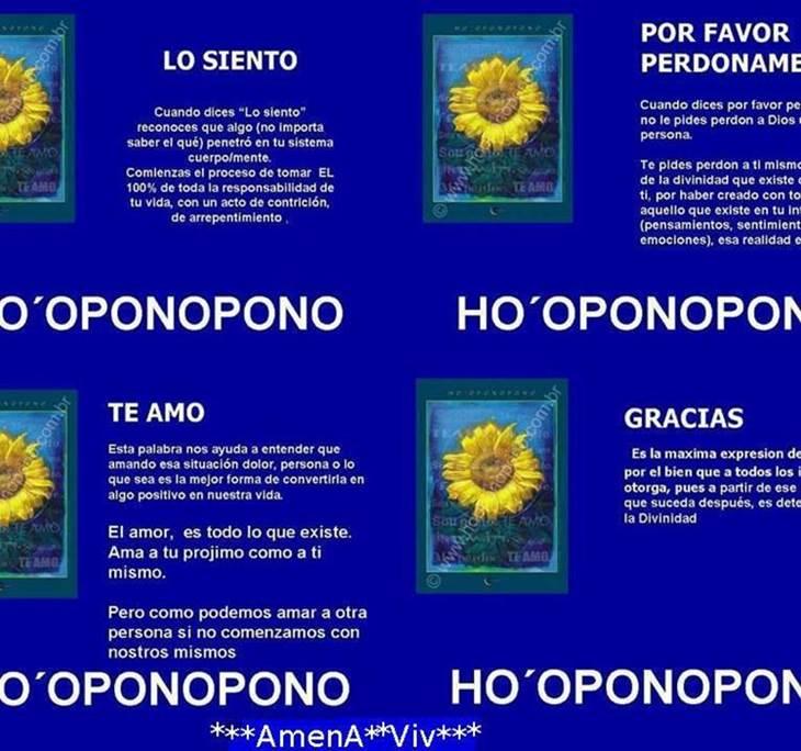HO`OPONOPONO. - pic0