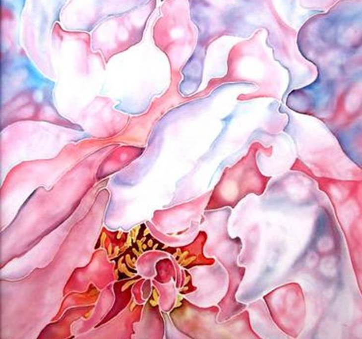 Pintura sobre seda - pic1