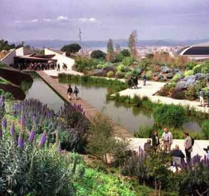 Visita jardines de montjuic uolala for Jardines de barcelona