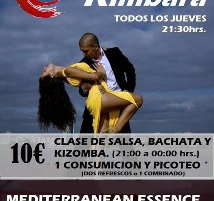 SESION KIMBARA, CLASES DE BACHATA, SALSA Y kIZOMBA - pic0