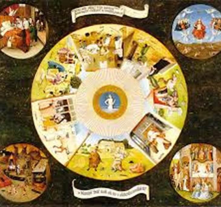 La mesa de los siete pecados capitales el bosco gratis - La mesa de los pecados capitales ...