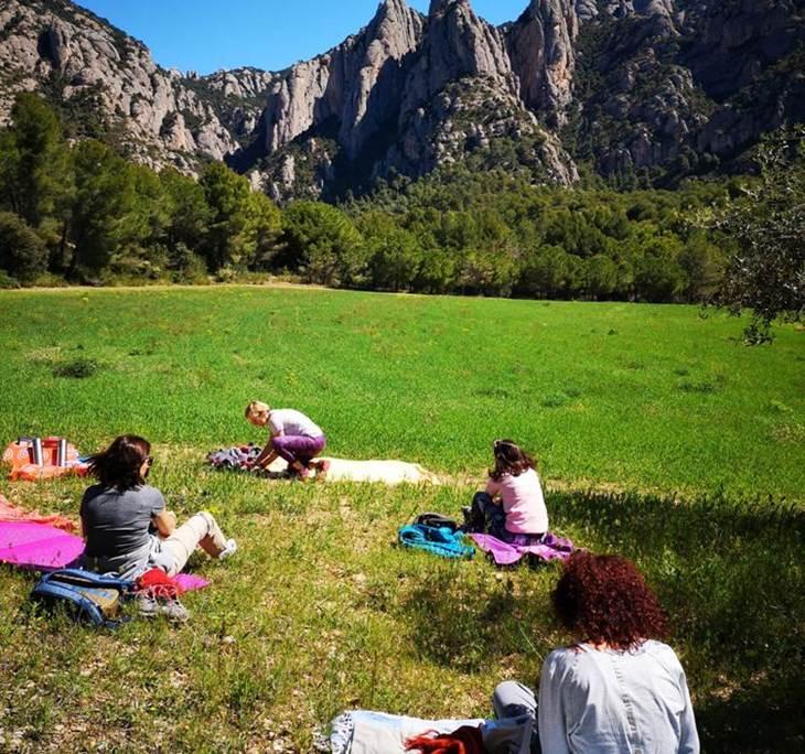 Meditación guiada en Montserrat - pic1