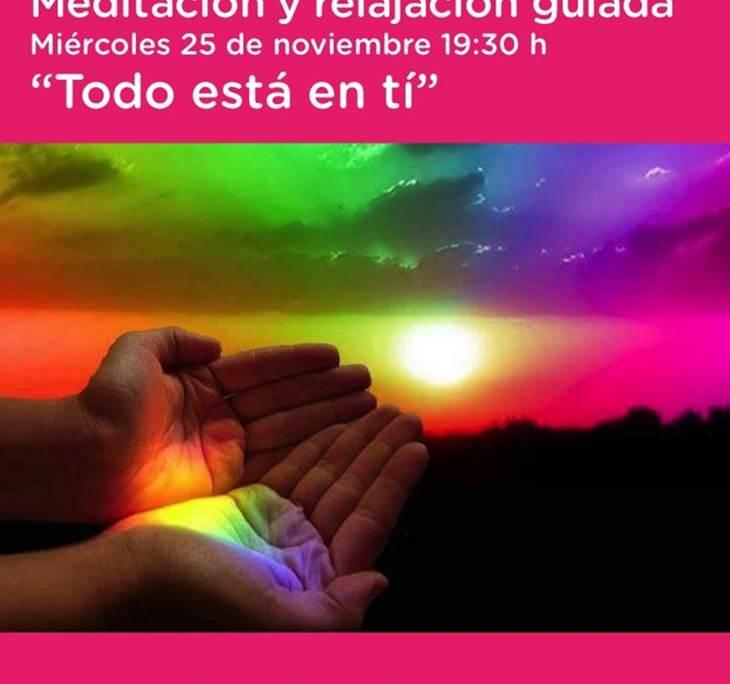 MEDITACIÓN GUIADA. TODO ESTÁ EN TÍ - pic0