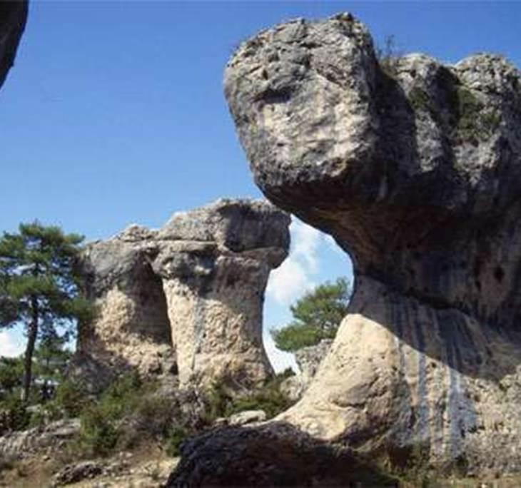 Monumentos naturales Cuenca; río Cuervo y serranía - pic0