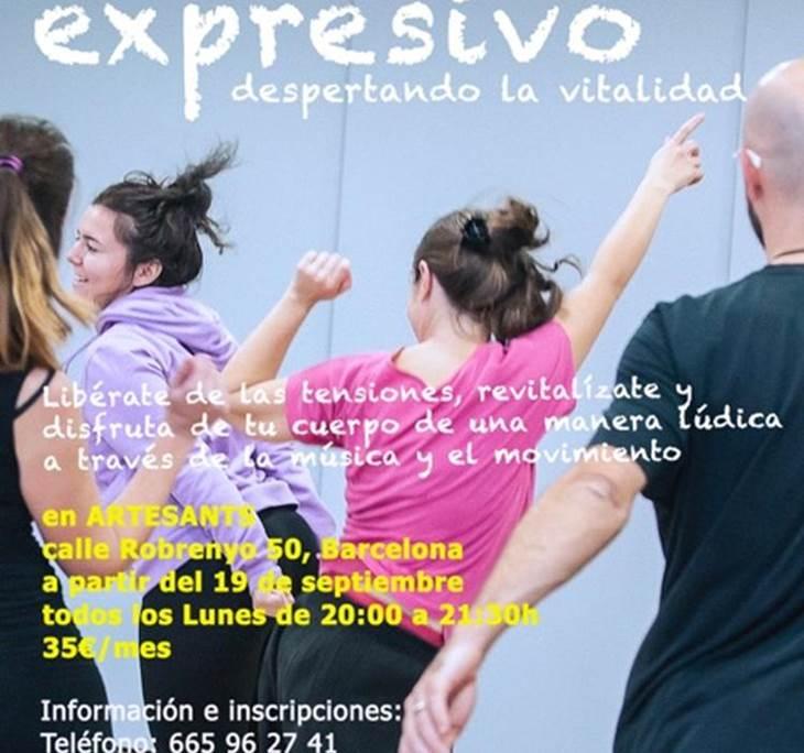 MOVIMIENTO EXPRESIVO, SESIÓN GRATUITA ABIERTA - pic6