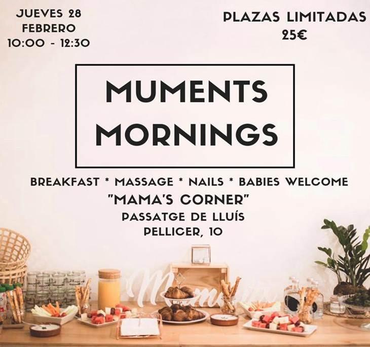 Muments Mornings, relax y cuidado para mamas - pic0