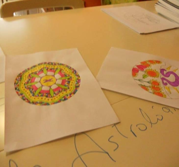 Pintar Mandalas Astrológicos - pic0