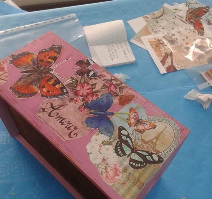 Pintura decorativa reciclado manualidades/MES 55€ - pic2