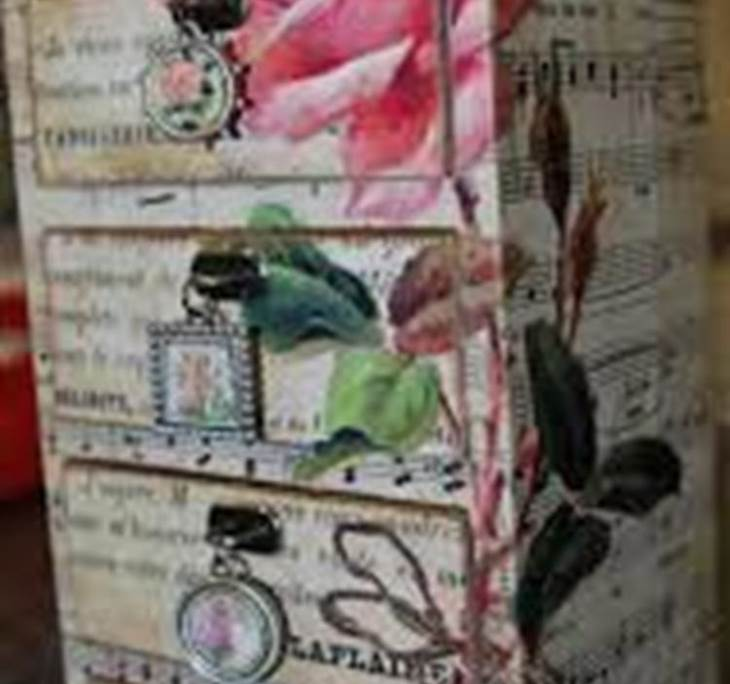 Pintura decorativa reciclado manualidades/MES 55€ - pic3