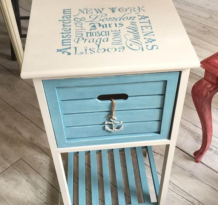 Pintura decorativa y tranformación de muebles - pic2