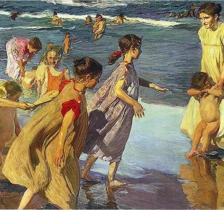 Playa Canteras Encuentro con niños y madres/padres - pic0