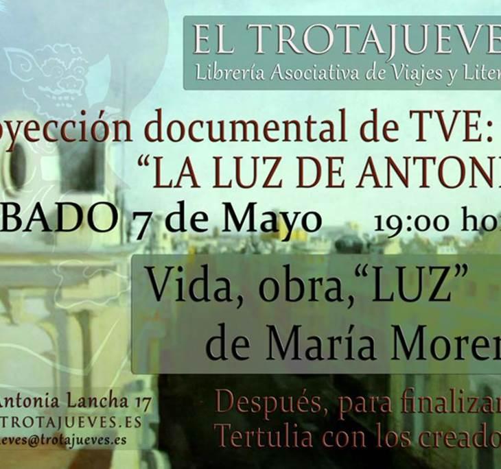 Proyección documental LA LUZ DE ANTONIO de TVE - pic1