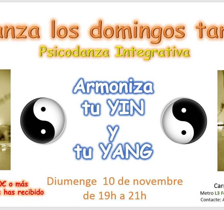 Psicodanza: Armoniza tu YIN y tu YANG - pic0