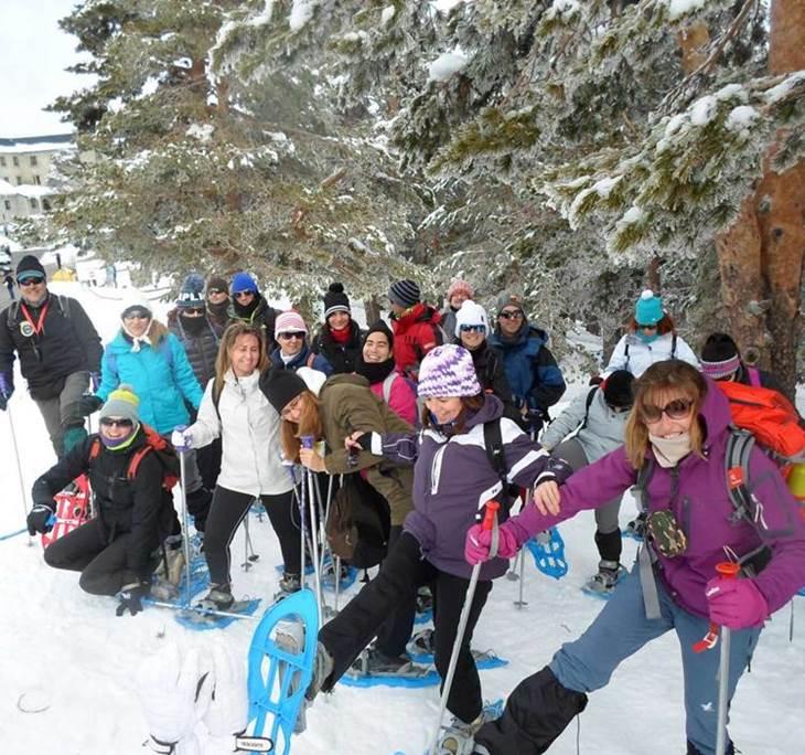 Raquetas de Nieve en la Sierra MAdrileña - pic0