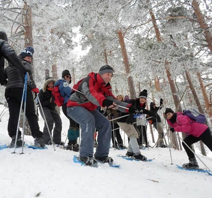 Raquetas de Nieve en la Sierra MAdrileña - pic1