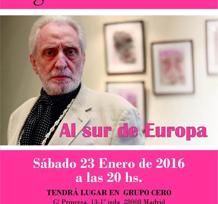Recital poesía de Miguel Menassa:Al sur de Europa - pic0
