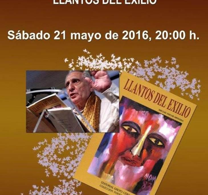 Recital poético de Miguel Oscar Menassa - pic0