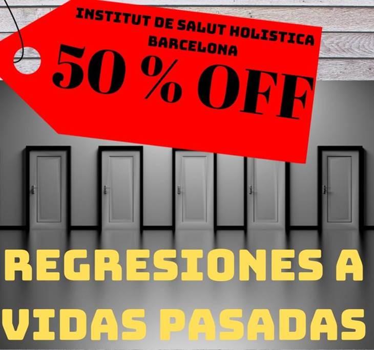 Regresión a vidas pasadas en promoción 50% - pic0