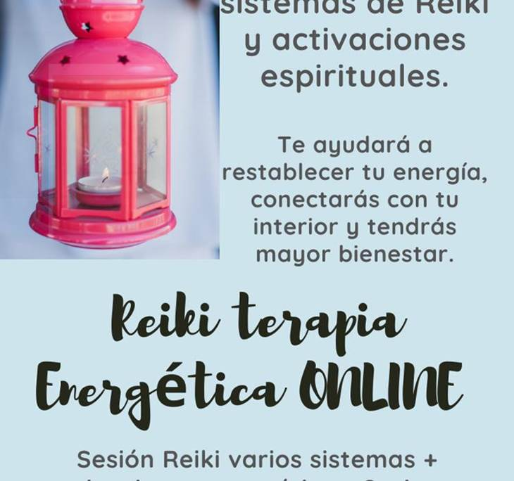 REIKI TERAPIA ENERGÉTICA ONLINE - pic0