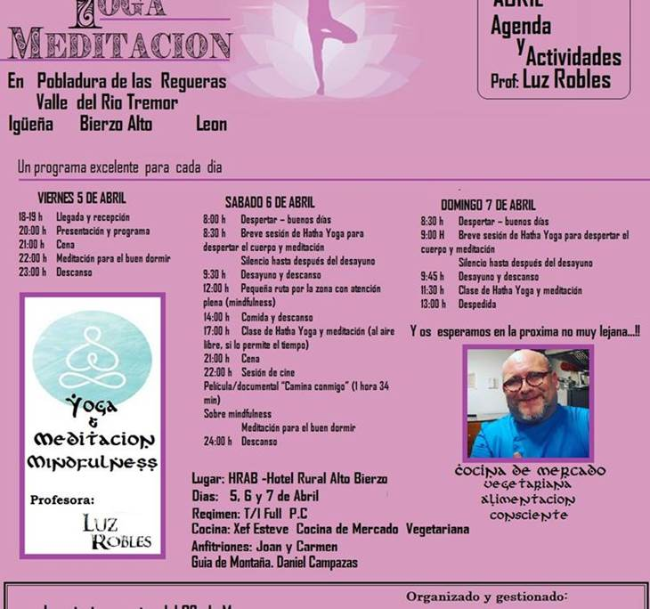 RETIRO DE YOGA Y MEDITACION  MINDFULNESS - pic0